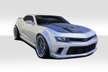 2015 Chevrolet Camaro  Kit-2014-2015 Chevrolet Camaro Duraflex GT Concept Wide Body Kit - 8 Piece - Includes GT Concept Front Bumper Cover (109794) Wi