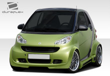 2012 Smart ForTwo  Kit-2008-2016 Smart ForTwo Duraflex GT300 Wide Body Kit - 11 Piece - Includes GT300 Wide Body Front Lip Under Spoiler Air Dam (1078
