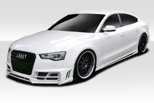 2013 Audi A5  Kit-2011-2013 Audi A5 4dr Duraflex TKR Kit - 4 Piece - Includes TKR Front Bumper (113514) TKR Side Skirts (113515) TKR Rear Bumper (1135