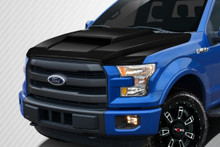 2015 Ford F150  Hood-2015-2018 Ford F-150 Carbon Creations Grid Hood - 1 Piece