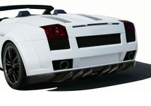 2006 Lamborghini Gallardo  Rear Bumper-2004-2008 Lamborghini Gallardo AF-1 Wide Body Rear Bumper Cover ( GFK ) - 1 Piece