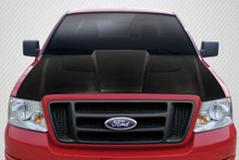 2005 Ford F150  Hood-2004-2008 Ford F-150 / 2006-2008 Lincoln Mark LT Carbon Creations DriTech Xtreme Hood - 1 Piece