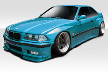 1994 BMW 3 Series  Kit-1992-1998 BMW 3 Series M3 E36 2DR Duraflex Circuit Wide Body Kit - 12 Piece - Includes Circuit Front Lip Spoiler (113440) Circu