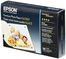 NEW Epson Photo Paper 4x6 (100 Sheets) Glossy S041727 - Free Shipping