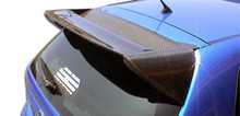 2002 Honda Civic HB Wing-2002-2005 Honda Civic Si HB Carbon Creations Type M Roof Window Wing Spoiler - 1 Piece