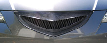 2004 Mazda Mazda 3 4DR Grill-2004-2009 Mazda 3 4DR Carbon Creations Open Mouth Grille - 1 Piece