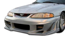 1994 Ford Mustang  Kit-1994-1998 Ford Mustang Duraflex Bomber Body Kit - 4 Piece - Includes Bomber Front Bumper Cover (103925) Bomber Side Skirts Rock