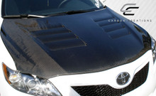 2010 Toyota Camry  Hood-2007-2011 Toyota Camry Carbon Creations GT Concept Hood - 1 Piece