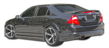 2010 Ford Fusion  Sideskirts-2006-2012 Ford Fusion Duraflex Racer Side Skirts Rocker Panels - 2 Piece