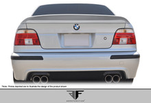 2001 BMW 5 Series 4DR Wing-1997-2003 BMW 5 Series E39 4DR AF-1 Trunk Spoiler ( GFK ) - 1 Piece