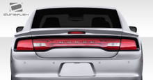 2011 Dodge Charger  Wing-2011-2014 Dodge Charger Duraflex Circuit Rear Wing Trunk Lid Spoiler - 3 Piece