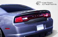 2011 Dodge Charger  Trunk-Hatch-2011-2014 Dodge Charger Carbon Creations OEM Trunk - 1 Piece