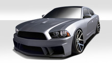 2014 Dodge Charger  Kit-2011-2014 Dodge Charger Duraflex Circuit Body Kit - 4 Piece - Includes Circuit Front Bumper Cover (107654) Circuit Side Skirts