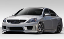 2012 Nissan Altima 4DR Kit-2010-2012 Nissan Altima 4DR Duraflex Sigma Body Kit - 4 Piece - Includes Sigma Front Bumper Cover (108506) Sigma Side Skirt