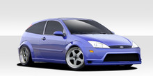 2001 Ford Focus HB Kit-2000-2004 Ford Focus HB Duraflex GT300 Body Kit - 4 Piece - Includes GT300 Front Bumper Cover (108818) Pro-DTM Side Skirts Rock