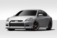 2010 Nissan Altima 4DR Kit-2010-2012 Nissan Altima 4DR Duraflex GT-R Body Kit - 4 Piece - Includes GT-R Front Bumper Cover (108854) Sigma Side Skirts