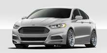 2013 Ford Fusion  Kit-2013-2016 Ford Fusion Duraflex Racer Body Kit - 4 Piece - Includes Racer Front Lip Under Spoiler Air Dam (109333) Racer Rear Lip