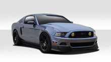 2014 Ford Mustang  Kit-2013-2014 Ford Mustang Duraflex R500 Body Kit - 6 Piece - Includes R500 Front Lip Under Air Dam Spoiler (109523) R-Spec Side Sk