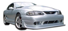 1995 Ford Mustang  Kit-1994-1998 Ford Mustang Duraflex Cobra R Body Kit - 4 Piece - Includes Cobra R Front Bumper Cover (101424) Colt 2 Rear Bumper Co