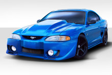 1998 Ford Mustang  Kit-1994-1998 Ford Mustang Duraflex Evo 5 Body Kit - 4 Piece - Includes Evo 5 Front Bumper Cover (101428) Vader Rear Bumper Cover (