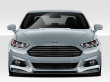 2014 Ford Fusion  Front Lip-Add On-2013-2016 Ford Fusion Duraflex Racer Front Lip Under Spoiler Air Dam - 1 Piece