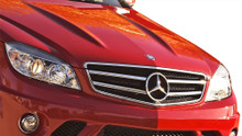 2008 Mercedes C Class  Grill-2008-2011 Mercedes C Class W204 Vaero C63 Look Conversion Grille and Mounting Accessories - 1 Piece