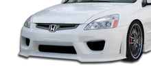 2003 Honda Accord 4DR Kit-2003-2005 Honda Accord 4DR Duraflex Sigma Body Kit - 4 Piece - Includes Sigma Front Bumper Cover (103296) Sigma Side Skirts
