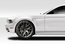 2012 Ford Mustang  Fender-2010-2014 Ford Mustang Duraflex GT Concept Fenders - 2 Piece