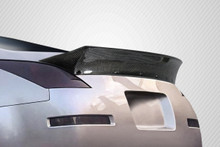 2003 Nissan 350Z  Wing-2003-2008 Nissan 350Z Z33 2DR Coupe Carbon Creations RBS Rear Wing Spoiler - 1 Piece