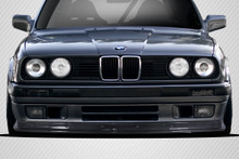 1985 BMW 3 Series  Front Lip-Add On-1984-1991 BMW 3 Series E30 Carbon Creations DriTech TKO Front Lip - 1 Piece