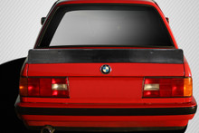 1984 BMW 3 Series  Wing-1984-1991 BMW 3 Series E30 Carbon Creations DriTech TKO Rear Wing Spoiler - 1 Piece