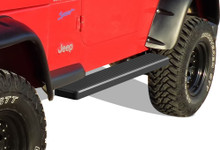 2000 Jeep Wrangler   Truck Step 5 Inch SS - APS-IB10EJH4H-2000