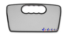 2007 Audi A4   Black Wire Mesh Grille - APS-GR02GEE21H-2007
