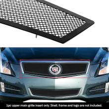 2014 Cadillac ATS   Black Wire Mesh Grille - APS-GR01GEI52H-2014