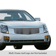 2006 Cadillac CTS   Stainless Steel Billet Grille - APS-GR01HEC68C-2006