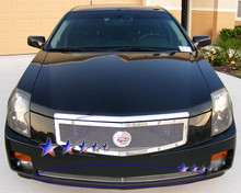 2007 Cadillac CTS   Mesh Grille - APS-GR01GEC78T-2007