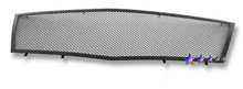 2008 Cadillac CTS   Black Wire Mesh Grille - APS-GR01GFE77H-2008B