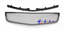 2011 Cadillac DTS   Black Wire Mesh Grille - APS-GR01GFG61H-2011