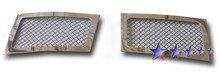 2009 Cadillac Escalade   Black Wire Mesh Grille - APS-GR01GFD82C-2009