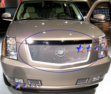 2009 Cadillac Escalade   Mesh Grille - APS-GR01GFD62T-2009