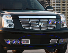 2008 Cadillac Escalade   Mesh Grille - APS-GR01GFD82T-2008