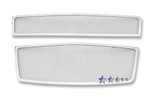 2009 Chevy Aveo   Mesh Grille - APS-GR03GFF74T-2009
