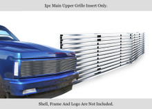 1991 Chevy Blazer   Stainless Steel Billet Grille - APS-GR03HEB32S-1991A