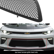 2017 Chevy Camaro SS  Black Wire Mesh Grille - APS-GR03GFC66H-2017
