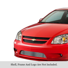 2005 Chevy Cobalt SS  Stainless Steel Billet Grille - APS-GR03FEG53S-2005A