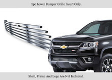 2017 Chevy Colorado   Stainless Steel Billet Grille - APS-GR03FFC17C-2017
