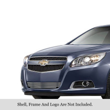 2013 Chevy Malibu   Stainless Steel Billet Grille - APS-GR03FEI44S-2013