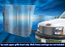 2005 Chevy Silverado 2500   Stainless Steel Billet Grille - APS-GR03HFH18C-2005A