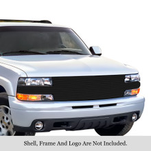 2007 Lincoln MKX   Mesh Grille - APS-GR12GEB17T-2007