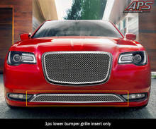 2004 Nissan Frontier   Stainless Steel Billet Grille - APS-GR14HED19S-2004